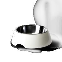 Hundenapf Design Napf weiss